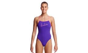 5ed46bec25c Funkita Tie Me Tight One Piece Purple Punch - Ladies Rapid Swimshop